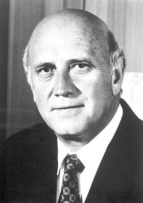 Frederik W de Klerk