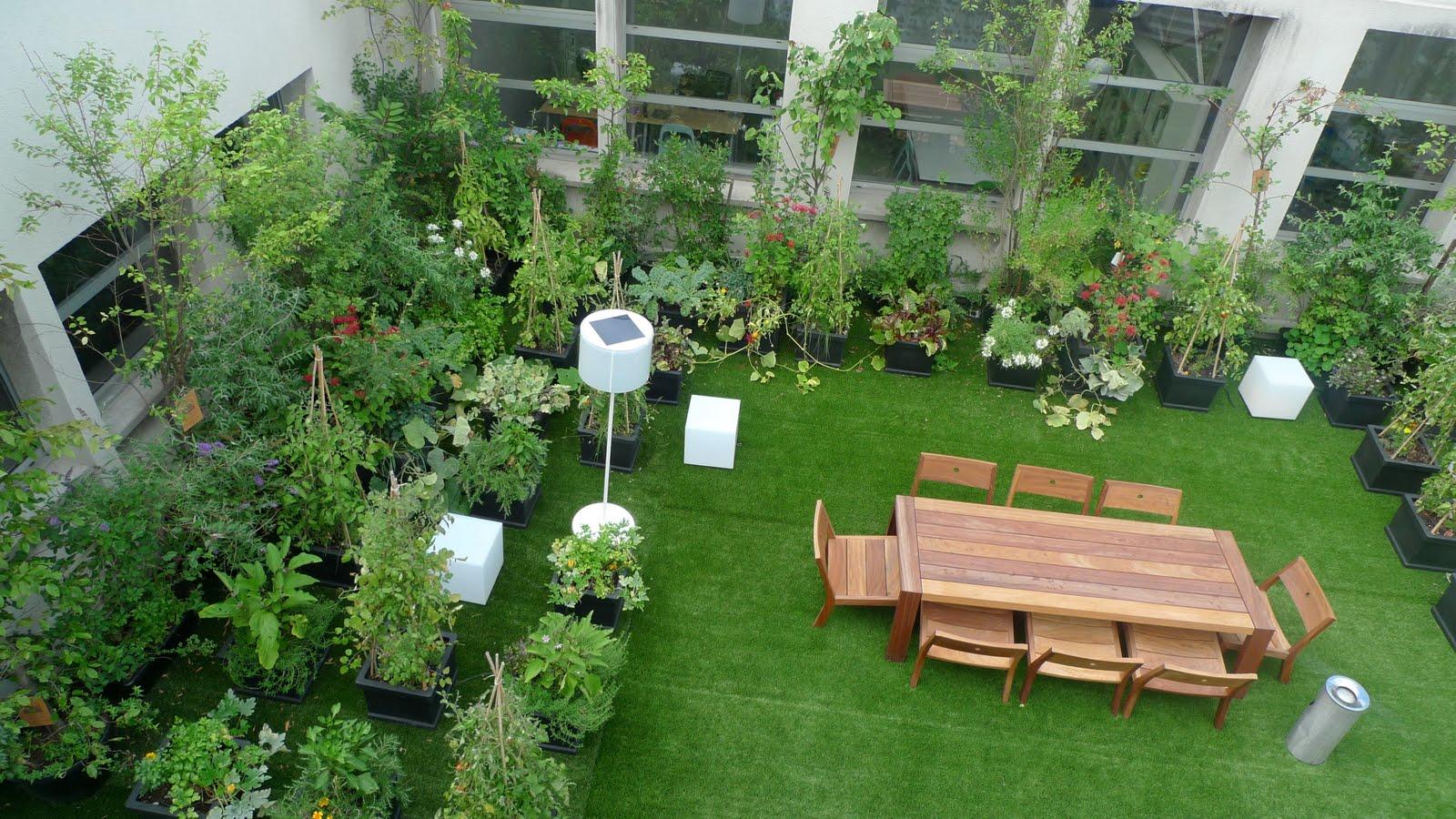 Rooftop Gardens Green Living Sunshiny Sa Site